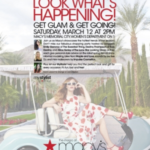 Get Glam & Get Going With Macy's