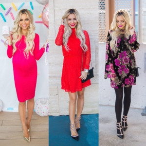 Red & Pink Dresses!