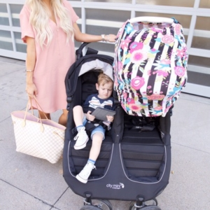 Double Stroller + My First Time Traveling With Two